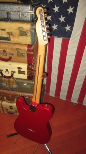 1997 Fender® Fat Telecaster® Candy Apple Red, Excellent, GigBag, $949.00