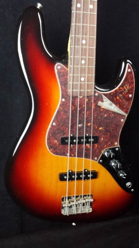 1997 Fender® Noel Redding Jazz sunburst, Near Mint, Hard