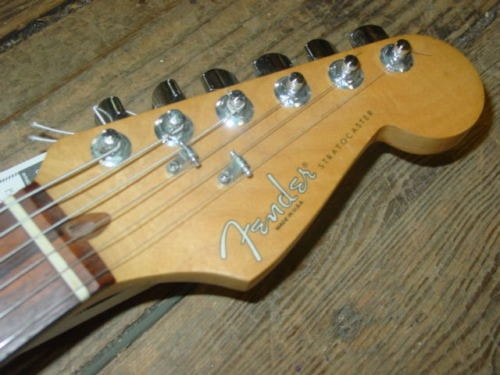 1997 Fender® Stratocaster® Deluxe Butterscotch Blonde, Excellent, Original Hard