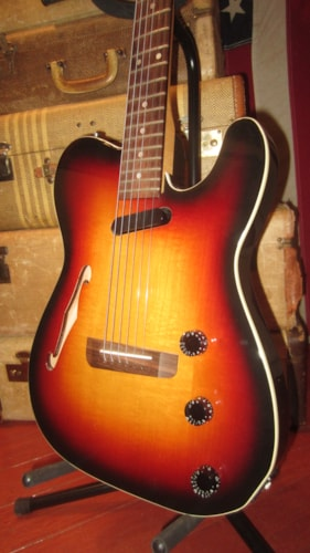 ~1997 Fender Telecaster Thinline Acoustic Electric Sunburst