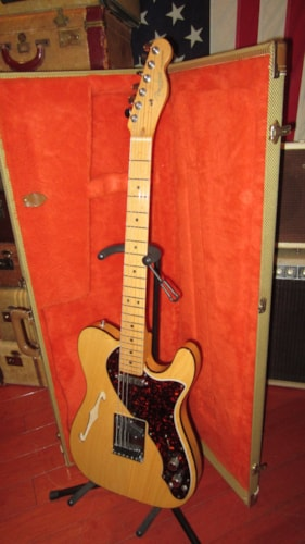 1997 Fender Telecaster Thinline w/ OBEL Effects Loop Jerry Garcia Style Natural, Excellent, Original Hard, $1,999.00