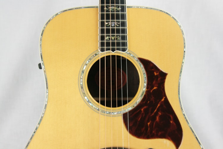 1997 Gibson Custom Shop CL-50 SUPREME Acoustic Guitar! Abalone, Rosewood, Ebony! Very rare model!