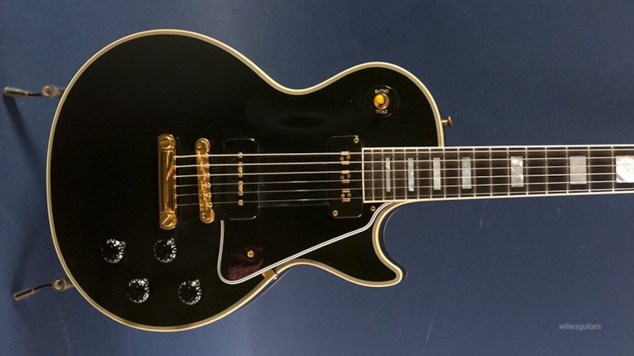 1997 Gibson Historic '54 Les Paul Custom Black Beauty, Excellent, Original Hard