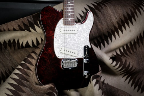 """1997 G&L ASAT Special """"Red Swirl"""""""