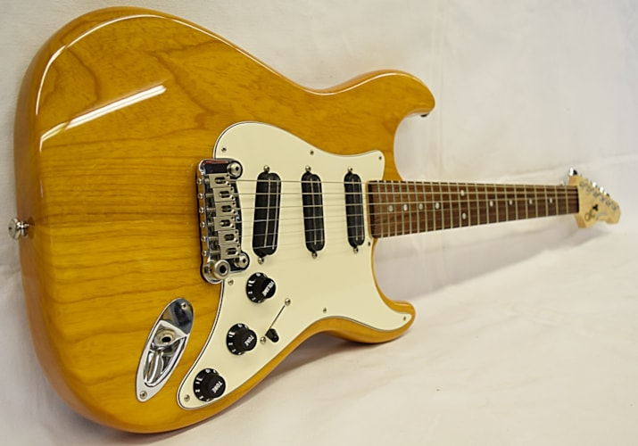 1997 G&L USA Legacy Special Natural Honey, Excellent, Hard, $999.99