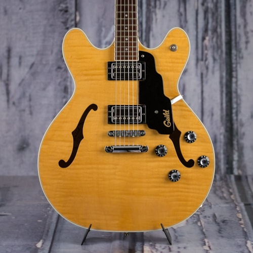Used Guild Starfire IV, 1997, Blonde Flame