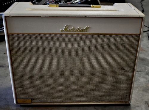 1997 Marshall Bluesbreaker White 35th Anniversary Combo