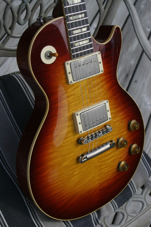 1997 Max Les Paul Burst Replica  U0026gt  Guitars Electric Solid