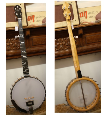 1997 RICHELIEU  5-String Banjo model 3133-S  Near Mint