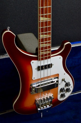 1997 Rickenbacker 4003  Fireglo, Excellent, Original Hard, $1,799.00
