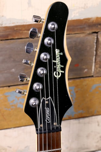 1998 Epiphone Coronet Charcoal Grey Metallic