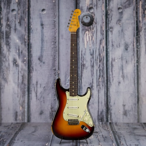 1998 Fender CS 60s Strat,  Cunetto Relic, 3-Tone Sunburst Brand New, $3,999.99