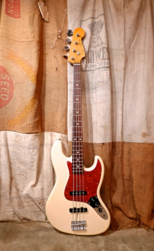 1998 Fender® Jazz Bass® Olympic White, Excellent, GigBag, $875.00