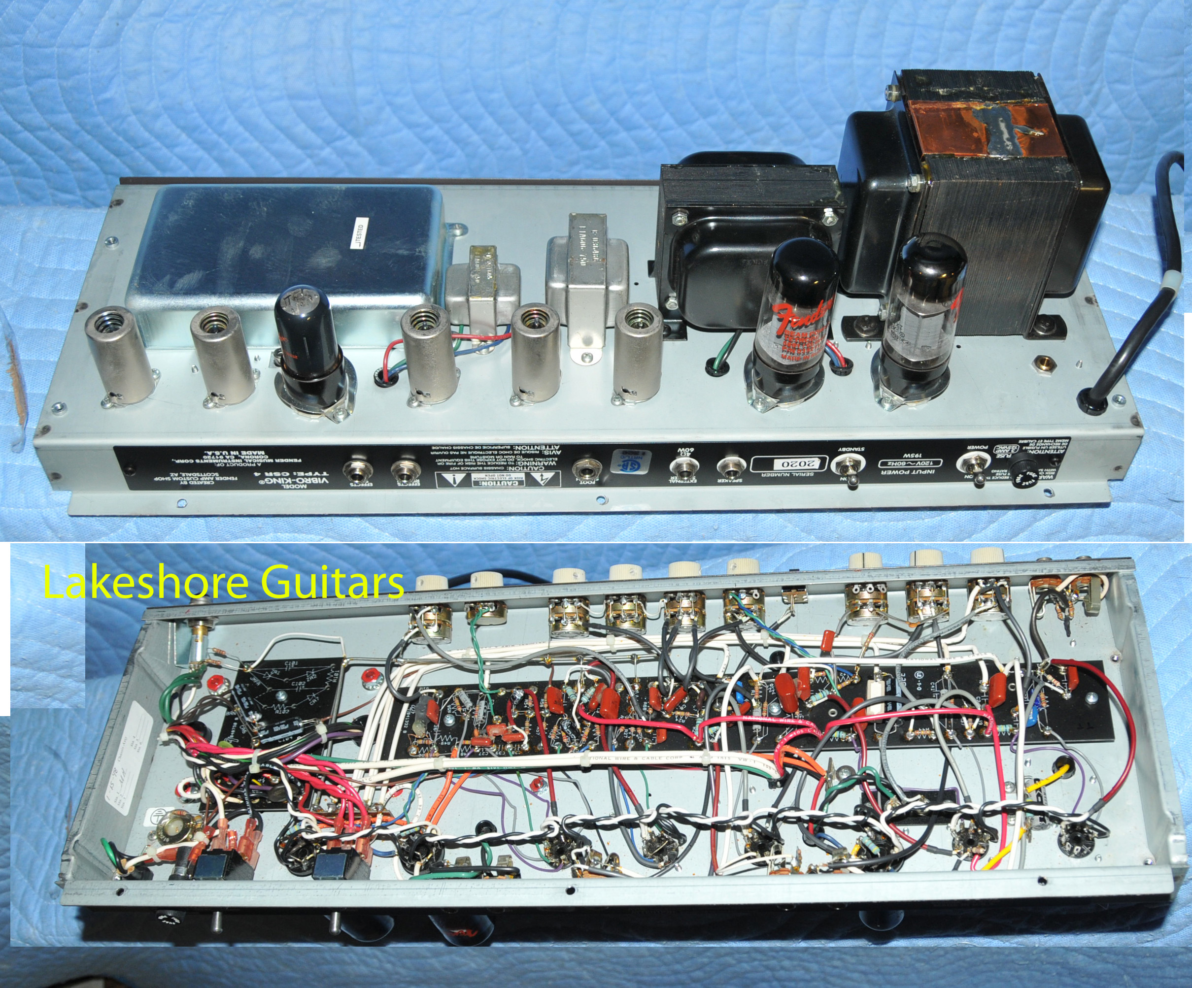 Fender Vibro King Wiring Diagram Posts Rs Guitarworks Diagrams 1998 Blond U003e Amps Preamps Lakeshore Guitars Sunburst