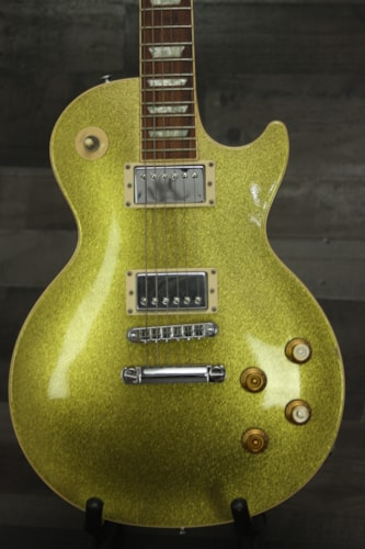 1998 Gibson Les Paul limited  Gold Sparkle, Very Good, Original Hard, $3,500.00