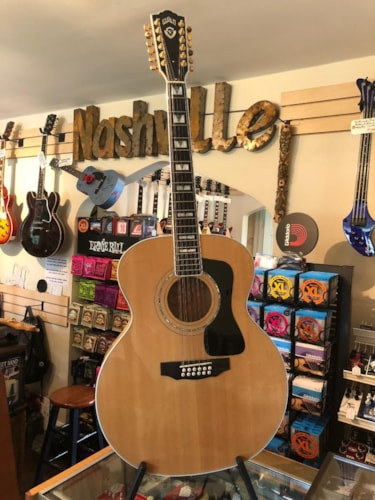 1998 Guild JF65-12 12-string Natural, Near Mint, Original Hard