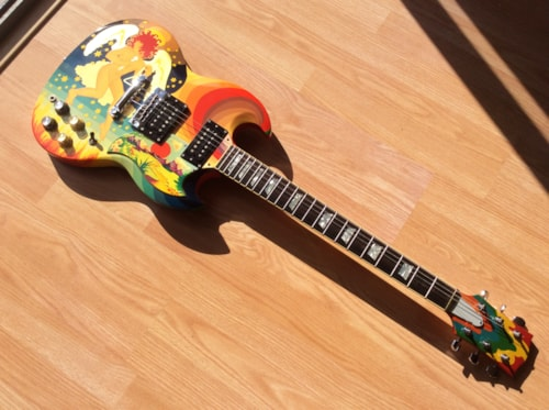 1998 Kid's brand (Hiroshito Kido luthier) SG Standard (1964 reissue) Copy of Clapton's