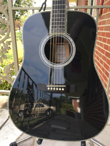1998 Martin D-42JC Black, Excellent, Original Hard, $25,000.00