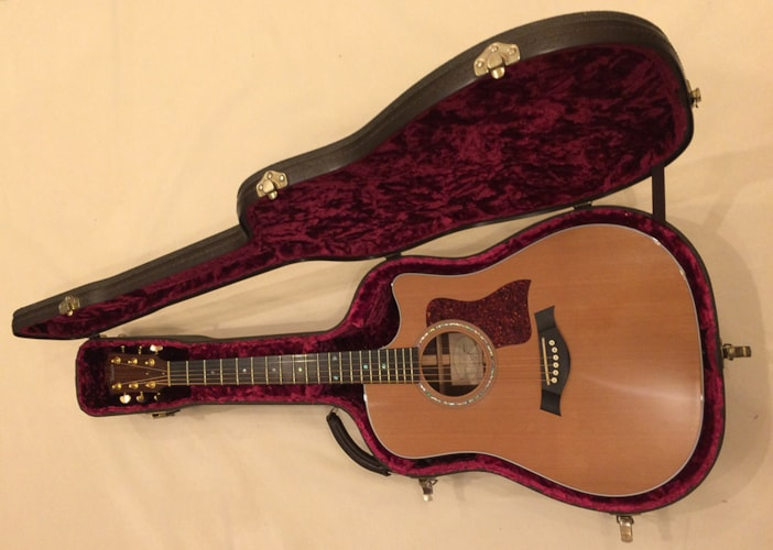 1998 Taylor 710ce Natural, Excellent, Original Hard, $1,949.00