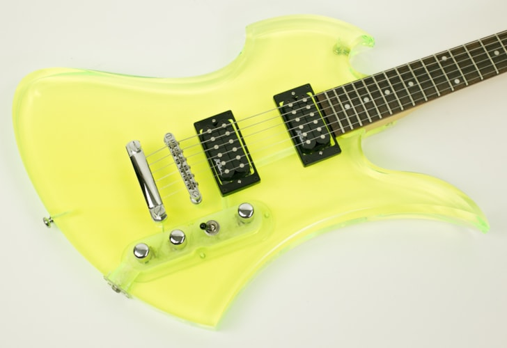 1999 BC Rich Mockingbird Acrylic Green, Very Good, GigBag, $499.00