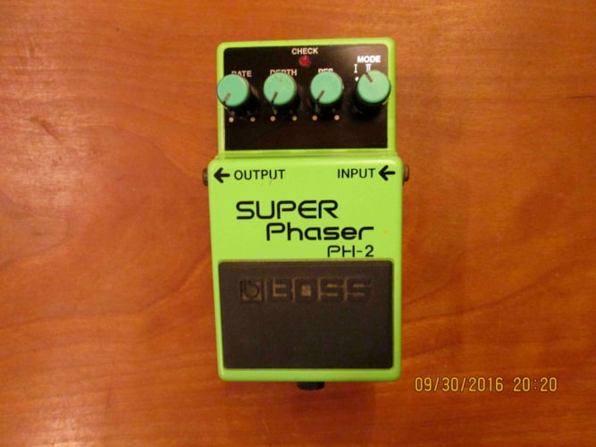 1999 BOSS PH-2 Super Phaser Excellent, $40.00