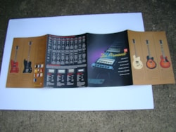 1999 Dearmond Catalog/guitars and amps
