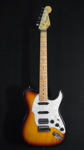 1999 Fender Custom Shop Stratocaster Telecaster Hybrid 3 Tone Sunburst, Mint, Original Hard
