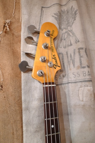 1999 Fender® Precision Bass® Reissue Olympic White, Very Good, GigBag, $875.00
