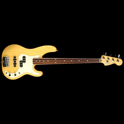 1999 Fender Used 1999 Fender Precision Plus Electric Bass Guitar Natural Excellent, $1,300.00