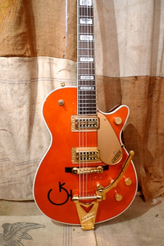 1999 Gretsch  6121 Chet Atkins Solidbody (1956 Reissue) Western Orange, Very Good, Original Hard, $1,375.00