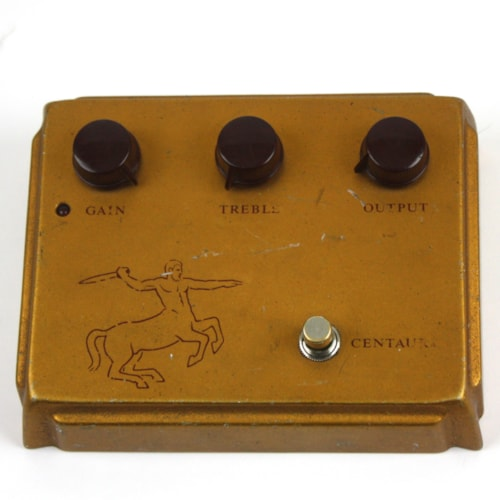 1999 Klon Centaur Professional Overdrive Gold Horsie, Very Good, $2,499.00