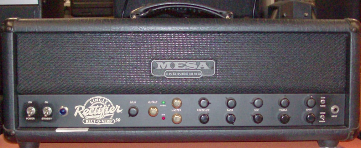 1999 Mesa Engineering Rect-O-Verb 50 Black, Excellent