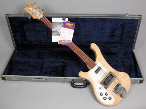 1999 Rickenbacker 4003S5 Mapleglo, Excellent, Original Hard