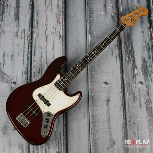 2000 Fender 2000 Fender Jazz Bass (Dark Red) Very Good, $199.99