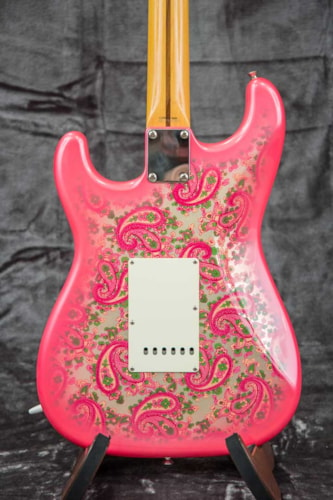 2000 Fender® CIJ Pink Paisley Stratocaster® Pink Paisley, Excellent, GigBag, $1,099.00