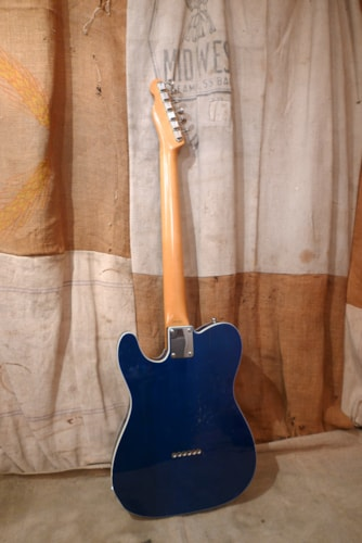 2000 Fender Telecaster Custom (1962 Reissue) Trans Blue, Good, GigBag, $975.00
