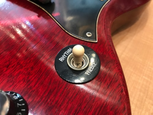 2000 Gibson Custom Shop Custom Shop Pete Townshend Signature SG Cherry Red