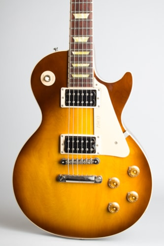 2000 Gibson Les Paul 1960 Classic sunburst top, natural back and sides Excellent Original Hard $2,200.00