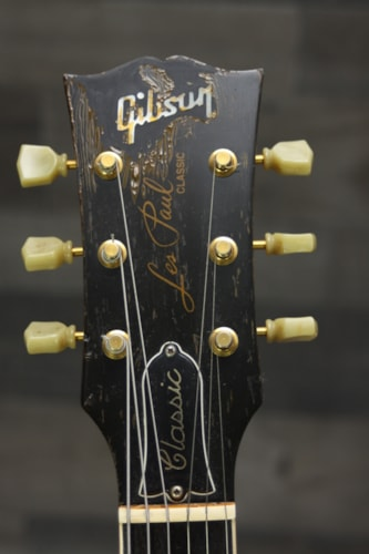 2000 Gibson Les Paul Classic Aged Limited Edition  Nitro Paint Black, Excellent, Original Hard, $2,199.00