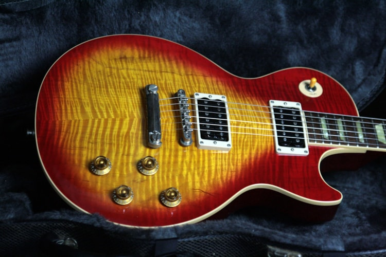 2000 Gibson Les Paul Classic Plus Flametop! Sunburst 1960 Reissue Standard! 60