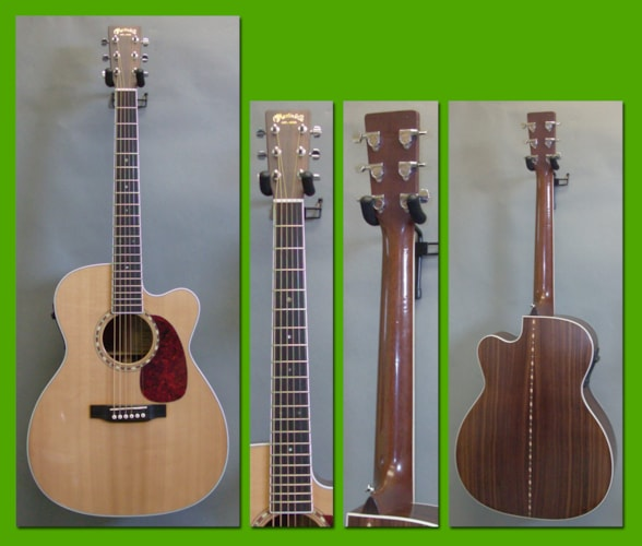 2000 Martin JC-16RGTE Premium Satin/Gloss Top, Excellent, Original Hard, $1,300.00