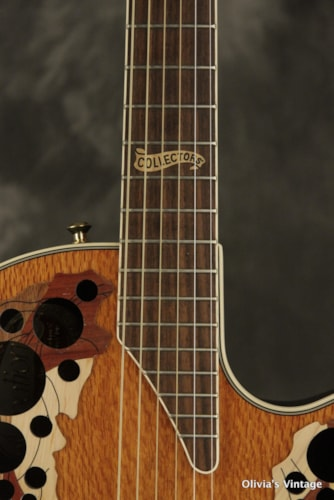 2000 Ovation Collector's Series '00 figured LACEWOOD top