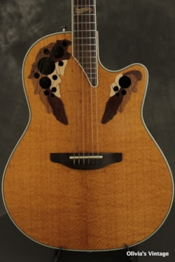 2000 Ovation Collector's Series Lacewood