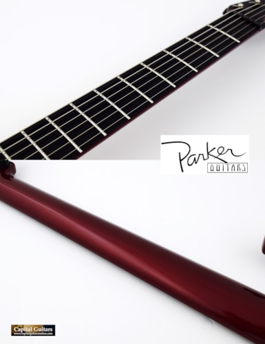 "2000 Parker Fly Deluxe ""Pre-Refined"" Ruby Red"