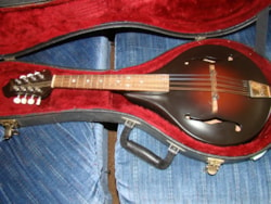 2000 Rigel A Natural Mandolin (sold as is)