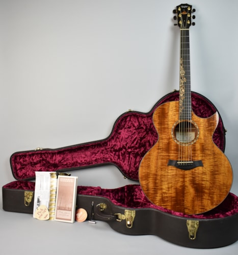 2000 Taylor KLSM Kenny Loggins Natural Koa, Near Mint, Original Hard