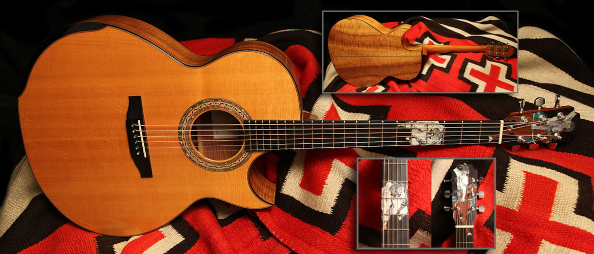 2000 William Laskin Acoustic Natural, Excellent, Hard