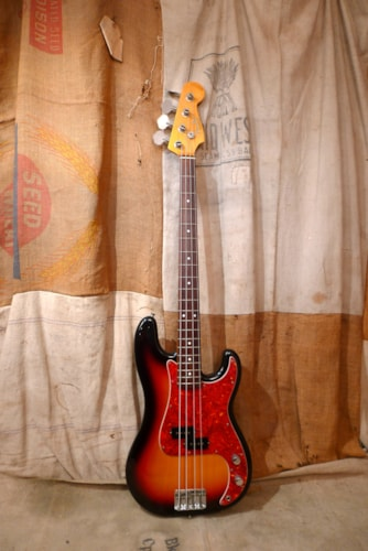 2001 Fender Precision Bass (1962 Reissue) Sunburst, Good, GigBag, $875.00