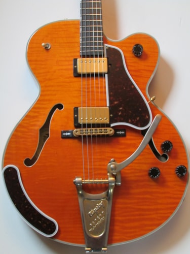 2001 Gibson Chet Atkins Country Gentleman Orange, Excellent, Original Hard, Call For Price!