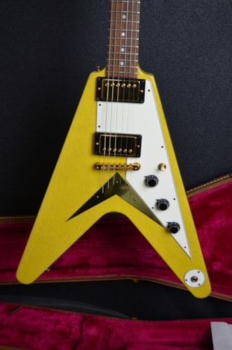 2001 Gibson CS Flying V Mahogany